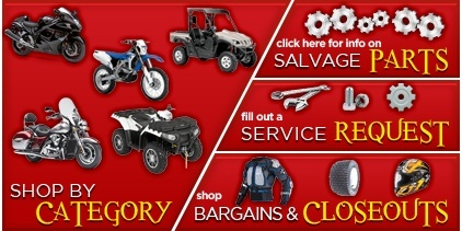 Oz Powersports shop banner